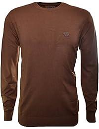 Armani Jeans Men's Brown Jumper