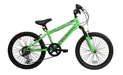 Falcon Samurai 20 Inch Boys Front Suspension Mountain Bike Green- MV Sports