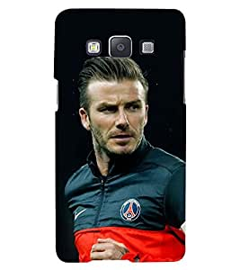 Printvisa Sportsman In Action Back Case Cover for Samsung Galaxy E7::Samsung Galaxy E7 E700F