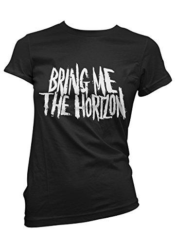 T-shirt Donna Bring Me The Horizon - maglietta 100% cotone LaMAGLIERIA Nero