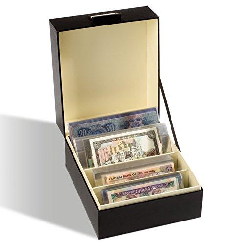 Leuchtturm 345677 Archivbox Logik | Für Objekte bis zum Format 220x168 mm (DIN A5) | Für z.B. Postkarten, Banknoten | Format: 230 x 173 x 270 mm