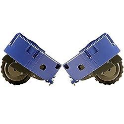 Kit Rad Räder rechts und links Original für iRobot Roomba DX Left SX Right Wheel Serie R3500600700alle Modelle