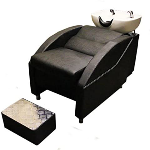 Salón/silla de lavabo con respaldo peluquería Barberos y footrest-9674