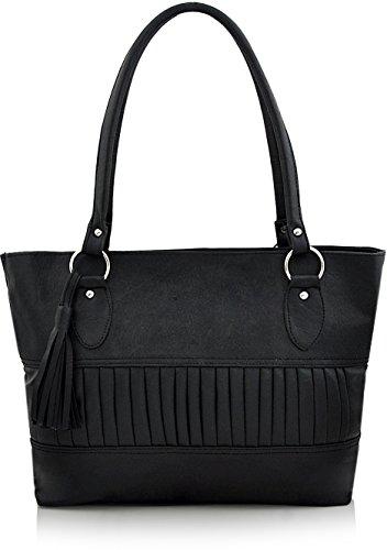 Utsukushii Women\'s Handbag(Black) (BG553A)