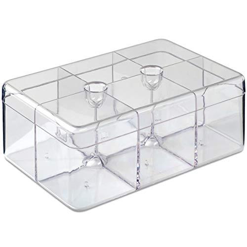 Rosti Mepal 106815053100 Caja para té Estireno-acrilonitrilo (San) - Cajas para té (Transparente, Estireno-acrilonitrilo (San), Rectángulo, 148 mm, 217 mm, 85 mm)