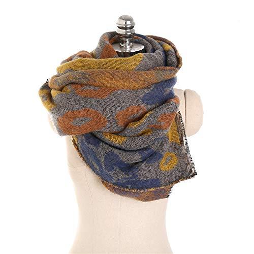 36907a18d22ca Mode Europäischen Und Amerikanischen Stil Leopard Tarnung Weiche Herbst Und  Winter Nachahmung Cashmere Schal Windproof Warm