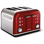 Morphy Richards Glen Dimplex Accents Red Toaster (44732)