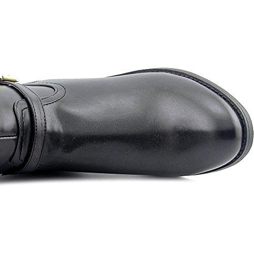 Tommy Hilfiger Drea 2 Wide Calf Femmes Synthétique Botte Black