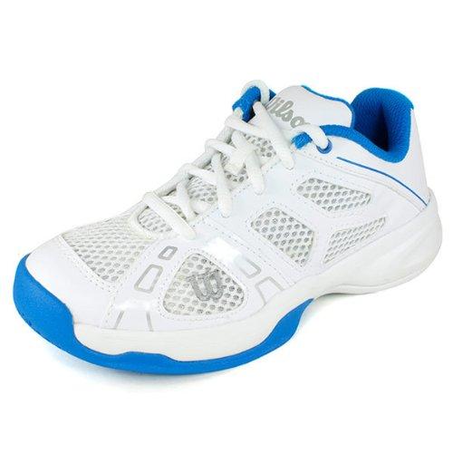 Wilson Wrs316920E010, Chaussures de sport mixte enfant Blanc (White)