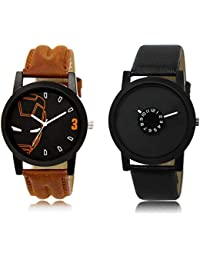 The Shopoholic Black Combo Latest Fashionable Black Dial Analog Watch For Boys Watch For Boy