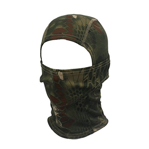 rmee Radfahren Motorrad Cap Balaclava Hüte Voll Gesichtsmaske (Grün) (Sicherheits-halloween-kostüme)