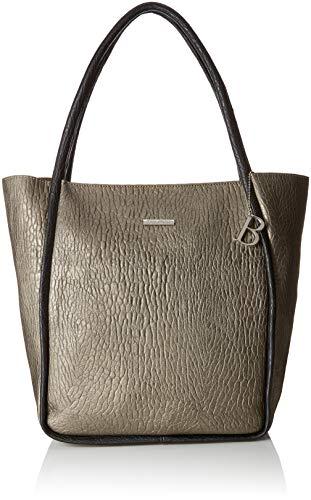 Bulaggi Damen Ivy Shopper Schultertasche, Beige (Bronze) 35x16x28 cm