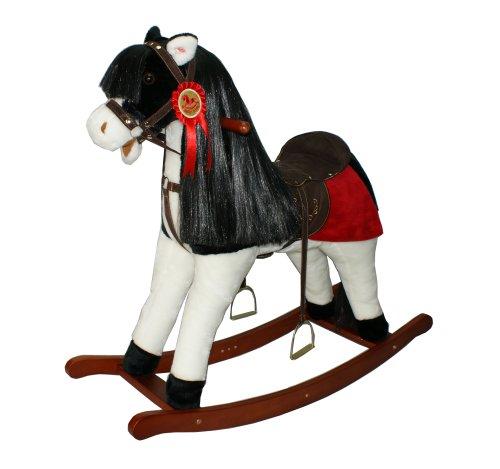 Sweety-Toys 3679 XXL Schaukelpferd DREAM Schaukeltier Pferd Sehr edel