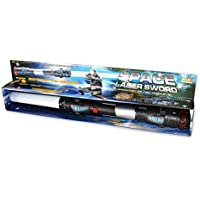 Espada láser vibratoria con sonido y luces (108 cm)