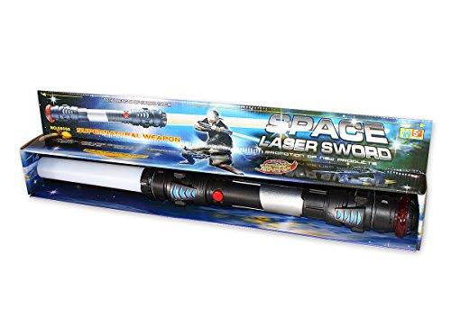 Laserschwert Lichtschwert 108cm mit Sound, Licht, Vibration (Einfach Kleinkind Kostüm)