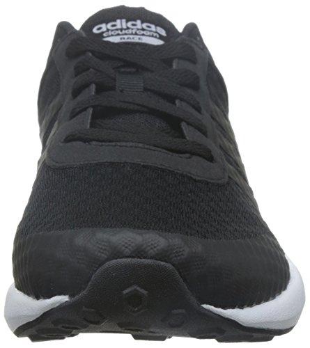 adidas Cloudfoam Race, Chaussures de Sport Homme Noir (Negbas / Negbas / Ftwbla)