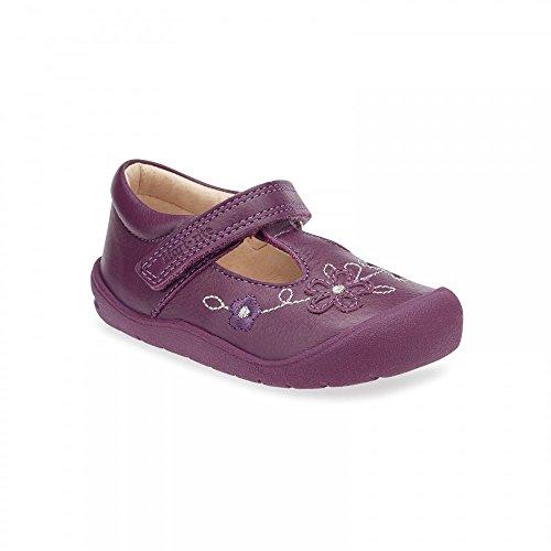 b7d543bc8659f Start Rite First MIA Girls First T-Bar Shoes 5 Berry F