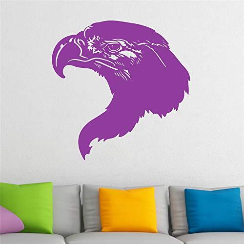 stickers muraux bebe papillon Eagle Head Focussed Bird pour chambre d'enfants chambre d'enfant