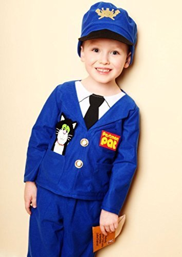 Image of POSTMAN PAT FANCY DRESS COSTUME 3/5 YEARS TROUSERS/JACKET/HAT VMC