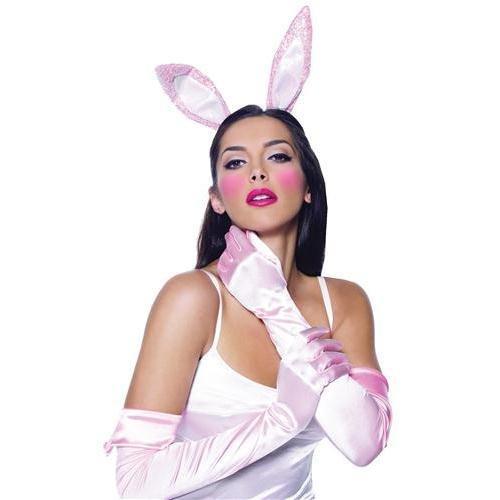 Leg Avenue - 3-teiliges - Bunny Accessory kit - 2059, Farbe:Rosa;Groesse:One (Playboy Bunny Kostüm)