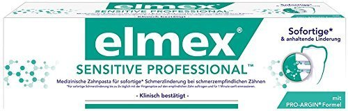 Elmex SENSITIVE PROFESSIONAL Zahnpasta mit PRO-ARGIN, 2er Pack (2 x 75 ml) DOPPELPACK