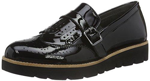 Gabor Shoes Comfort Sport, Mocassini Donna, Nero (Schwarz S.S/C), 44 EU