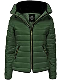 a726d02c672 Top Fashions Women Ladies Plus Size Puffa Padded Bubble Fur Thick Quilted Jacket  Size 14-