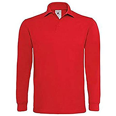 B&C Collection - T-shirt - Moderne - Homme - rouge - X-Large