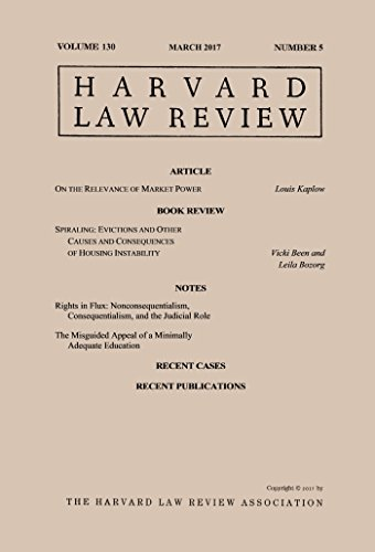 harvard-law-review-volume-130-number-5-march-2017-english-edition