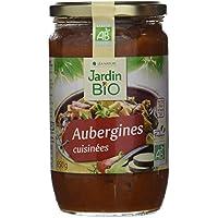 Jardin Bio Aubergines Cuisinées 650 g