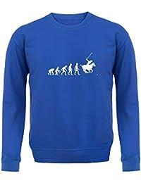 Evolution Of Man Polo - Enfant Sweat Pull - 8 Couleurs e499307dfb0