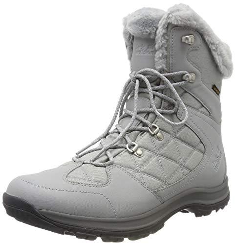 Jack Wolfskin Damen Thunder Bay Texapore Mid W Wasserdicht Trekking-& Wanderstiefel, Grau (Light Grey/ Grey 6125) 39 EU