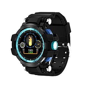 12shage Reloj Inteligente Hombre, IP68 Smartwatch con Pulsera Actividad Reloj Deportivo Monitor de Sueño Pulsómetro Podómetro para Andriod y iOS 6