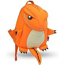 Yisibo Mochilas para niños Kinder Kids Mochila de dibujos animados 3D mochilas lindo animales de senderismo bolsa de viaje para niños