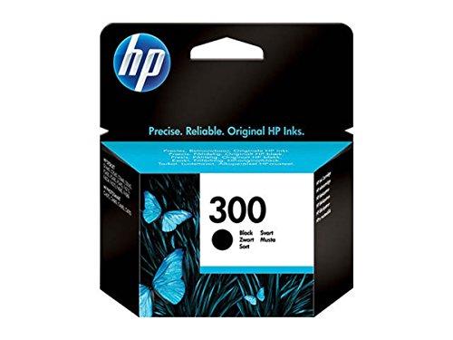 Original Tinte HP 300 , NO300 , Nr 300 CC640EE , CC640EEABB , CC640EEABD , CC640EEABE , CC640EEABF - Premium Drucker-Patrone - Schwarz - 200 Seiten - 4 ml (Schwarz 300 Tinte)
