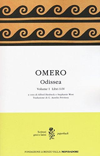 Odissea. Testo greco a fronte: 1 (Scrittori greci e latini. Paperback) por Omero