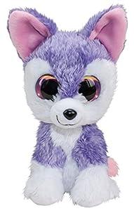 LUMO STARS Wolf Susi Animales de Juguete Felpa Rosa, Púrpura, Blanco - Juguetes de Peluche (Animales de Juguete, Rosa, Púrpura, Blanco, Felpa, 3 año(s), Lobo, Niño/niña)