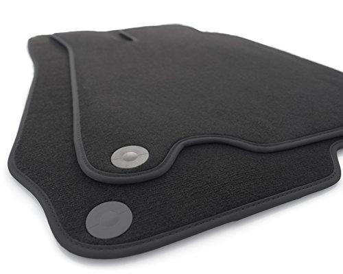Fußmatten R230 Velour Automatten Premium Original Qualität schwarz (R230 Mercedes Fußmatten)