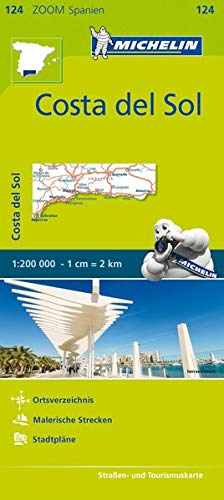 Costa del Sol Zoom Map 124 (Mapas Zoom Michelin)