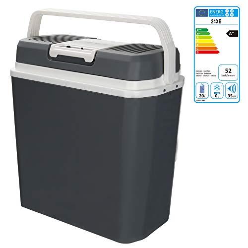 Hengda 24 Liter Kühlbox, WÄRMT und KÜHLT, tragbare thermo-Elektrische Kühlbox 12 V und 230 V, Mini-Kühlschrank für Auto, Lkw, Camping, Steckdose