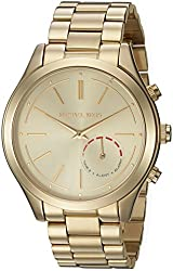 Michael Kors Analog White Dial Womens Watch-MKT4002