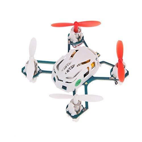 Hubsan Nano Q4 H111 4-CH 2.4GHz RTF Mini RC Quadcopter UFO Drone con 6 Assi giroscopio/LED Luce