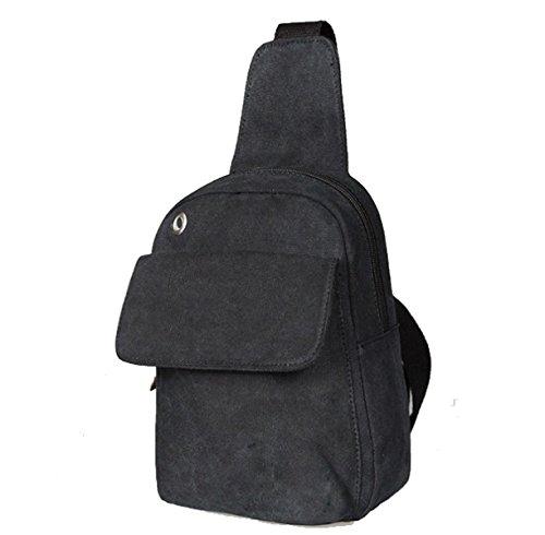 BULAGE Tasche Schulter Natur Reisen Freizeit Schulter Männer Beutel Brusttasche Einzigartig Personalisierte Sport Mode Einfach Black