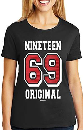 50 Geburtstag Frau Original 1969 T-Shirt