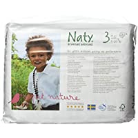 Naty by Nature Babycare Size 3 ECO Nappies - 4 x Packs of 31 (124 Nappies) - ukpricecomparsion.eu