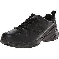 New Balance Men's MX608v4 Training Shoe, Black, 7 2E US
