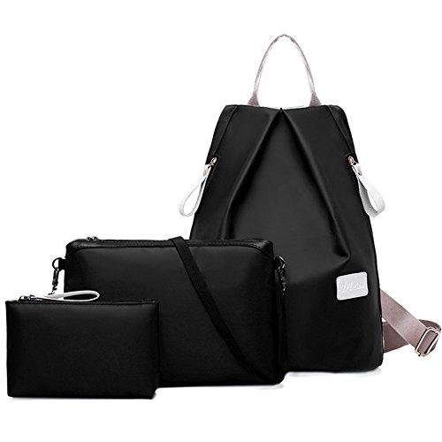 turelifes-3-pcs-women-bags-waterproof-oxford-cloth-backpack-handbags-shoulder-bags-tote-satchel-hobo