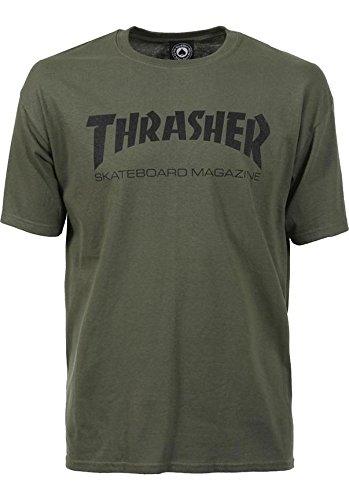 Thrasher -  t-shirt - uomo verde medium