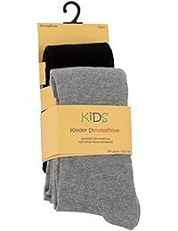 2er oder 4er Set Kinder Strumpfhosen, Baumwolle, Mädchen und Jungen Strumpfhose (Öko-Tex Standard 100 Zertifiziert) original VCA®