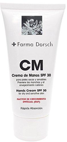 Farma Dorsch Crema De Manos Para Pieles Secas y Sensibles SPF 30 - 50 ml.